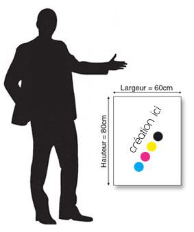 Affiche 60x80 cm