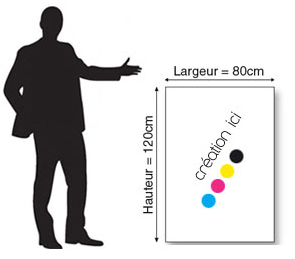 Affiche 80x120 cm