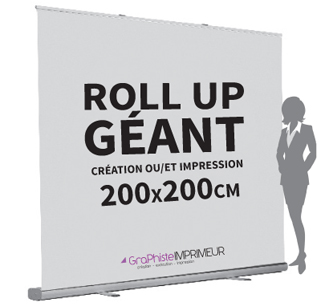 Roll Up Géant Eco