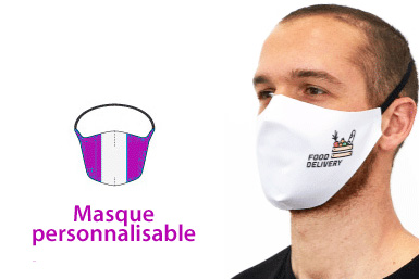 Masque en Tissu avec impression