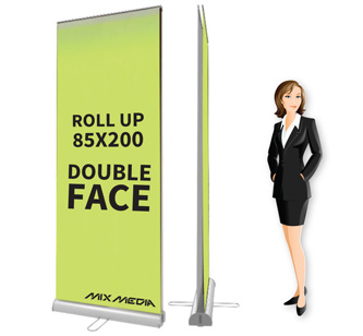 Roll Up Double Face