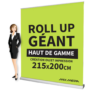 Roll Up Géant Recto