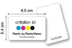 Carte Plastique (PVC)