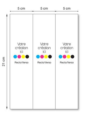 Marque-page 3 volets
